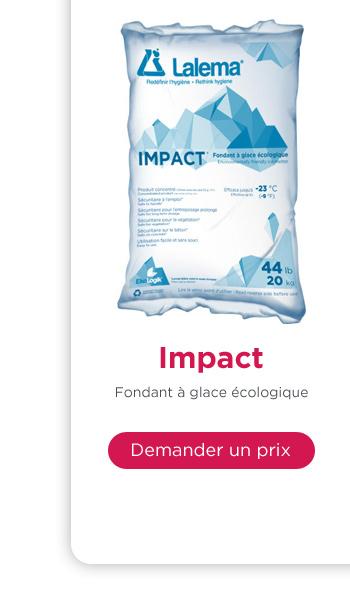 Impact fondant à glace écologique