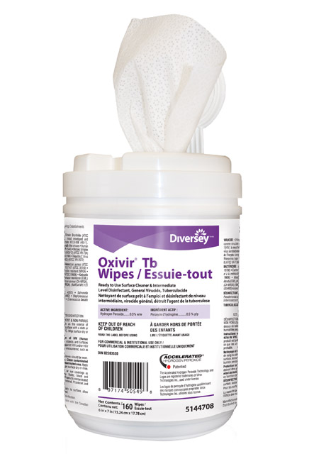 Ready To Use Disinfectant Wipes Oxivir Tb Jhun5144708