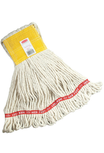 Web Foot Wet Mop, Wide Band #RBA15306BLA