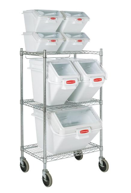Tag re pour bacs alimentaires empilables fg9g8000chrm - Etagere alimentaire rangement ...