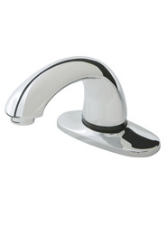 "Auto Faucet in Polished Chrome Milano with 4"" Center Set #RB190329200"