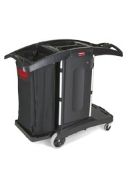 Double Folding Cleaning Cart #RB009T76NOI