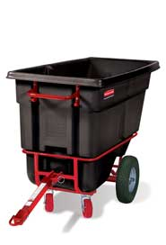 Chariot basculant à traineau 1/2 verge cube Rubbermaid 1306-41 #RB130641NOI