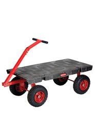 Platform Cart with T-Bar Pulling Handle Rubbermaid 4479 #RB004477000