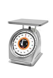 "Stainless Steel Scale with Quickstop 9"" X 9"" #RB832SRWQ00"