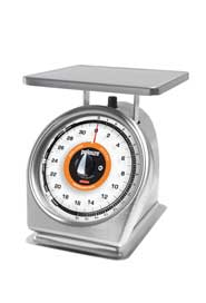 Stainless Steel Scale with Rotating Dial #RB832SRW000