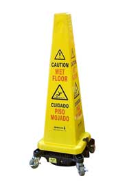 Cordless Floor Dryer Safety Cone, Hurricone #LEHSC600000