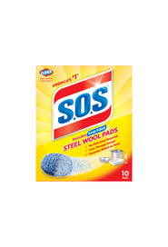 Steel Wool Soap & Clorox Pads Box S.O.S #CL001177000