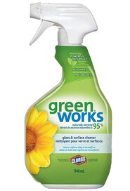 Glass & Surface Cleaner Green Works #CL001067000