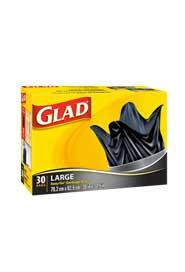 Sacs à ordures 77 L Glad #CL001183700