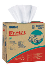Wypall X60 Industrial White Wipers #KC034790000