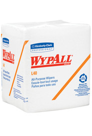 Wypall L40 Wipers White Kimberly Clark Professional #KC005600000