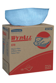 Blue Wipes WypAll Workhorse X70 #KC041412000