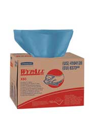 Blue Wipes WypAll ShopPro X80 #KC041041000