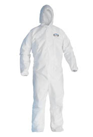 Breathable Particle Protection Coveralls KleenGuard A20 #KC049113000