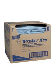 Wipes for Food Processing Facilities Wypall X70 #KC005927000