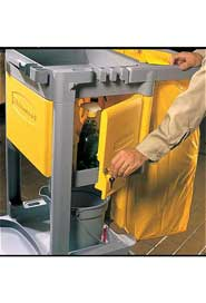 Lockable Cabinet for Janitor Cart 6173 #RB006181JAU