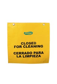 "Hanging Door Frame Sign ""Closed for Cleaning"" #MR135027000"