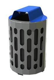 Waste Receptacle 42 Gals. Stingray #FR002020BLE