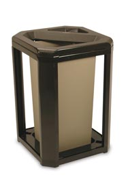 Ash/Trash Container Classic Landmark Series 3966 #RB003966SAB