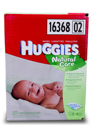 Lingettes Huggies Natural Care #PG431950000