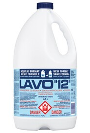 Commercial Bleach 12% #LV00LM125.0