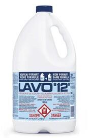 Nettoyants d sinfectants produits sanitaires pour l 39 entretien m nager et le nettoyage - Eau de javel concentree ...