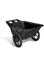 Cart with Pneumatic Wheel 7.5 Cu. Ft. Big Wheel #RB005642NOI