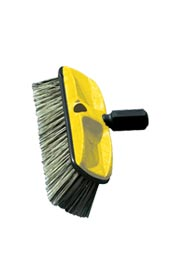 Threded Washing Brush with Polystyrene Bristles #RB009B37GRI