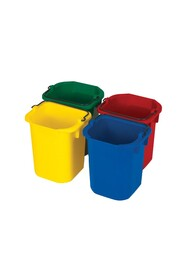 Disinfecting Pails Set in 4 Colors 4,7 L #RB009T83000