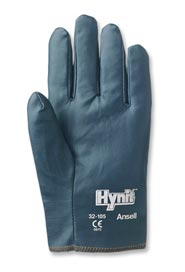 Nitrile Impregnated Gloves for Light to Medium Duty Hynit #SE0321057.5
