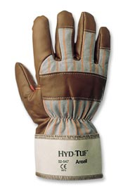 Nitrile Gloves Coated with Cotton at the Back Hyd-Tuf #SE052547009