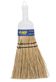 Straw Whisk Broom with Plastic Handle #AG017522000