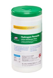 Hydrogen Peroxide Cleaner Disinfectant Wipes #CL001456000