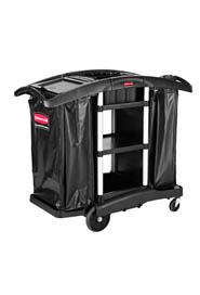 Janitor Cleaning & Recycling Cart Executive Series #RB186144100
