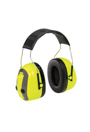 Yellow Over-the-Head Earmuff Hearing Conservation H7A HV-PTL #AM140012000