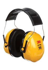 Over-the-Head Earmuff Hearing Conservation Optime 98 H9A #AM140013000