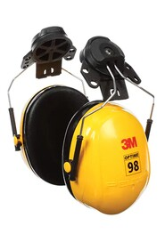 Cap-Mounted Earmuff Hearing Conservation Optime 98 H9P3E #AM140016000