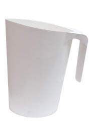 White Pitcher for milk #LT114105900