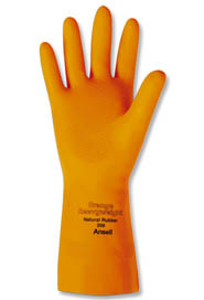 Orange Diamond-Shaped Embossed Gloves Heavyweight #208 #TR000208009