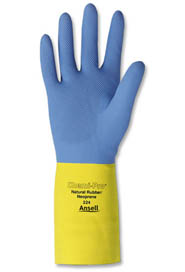 Neoprene Over Latex Heavy-Duty Gloves Chemi-Pro #TR000224007
