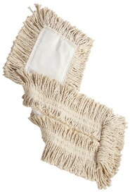 Cutted-End Disposable Cotton Dust Mop #RB00L253BLA