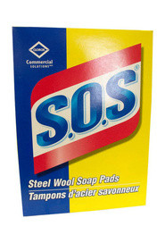 Steel Wool Soap Pads Box S.O.S #EM307073000