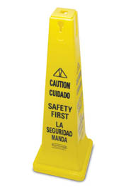 "Bilingual Safety Cone 36"" #RB627687000"