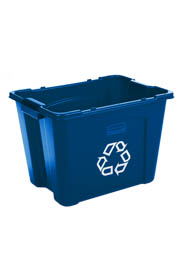 Bac de recyclage empilable 14 gallons #RB571473000