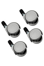 Set of 4 casters for Vileda window/wax bucket #MR135083000
