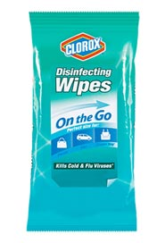 Disinfecting Wipes On the Go #CL001476000