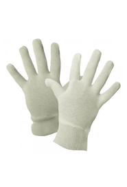 Pair of inspector Glove Cotton 4 oz Interlock with Wrist #TRTIH45K000