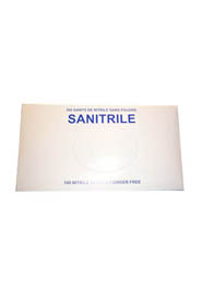 Powder-free Glove Sanitrile #TRST98PF0XS