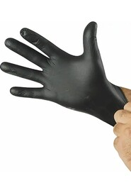 Black Nitrile Glove N-DEX Nighthawk #TR07700PFTL